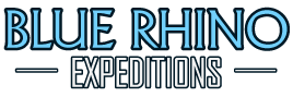 blue rhino expeditions tanzania logo